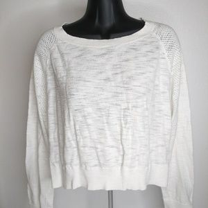mossimo long sleeve blouse xxl white